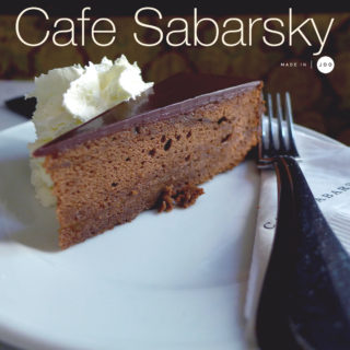 [New York] Café Sabarsky
