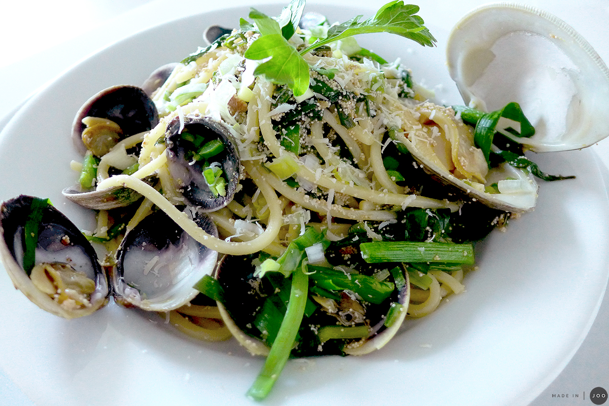 mentaiko-pasta-with-chives-and-clams-14