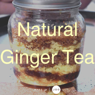 [recipe] Natural Ginger Tea