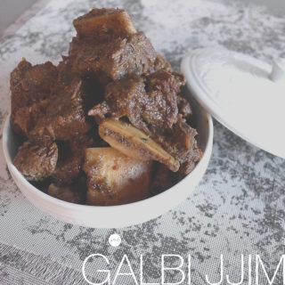 [recipe] Korean Braised Beef Short Ribs, Galbi Jjim