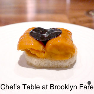 [New York] Chef's Table at Brooklyn Fare