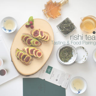[Tea & Food Pairing] Fig Toasts with White Peony Tea